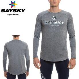SAYSKY(セイスカイ) クラシック 長袖Tシャツ(ロングスリーブシャツ)