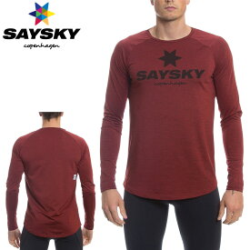 SAYSKY(セイスカイ) クラシック 長袖Tシャツ(ロングスリーブシャツ) 【返品交換不可】