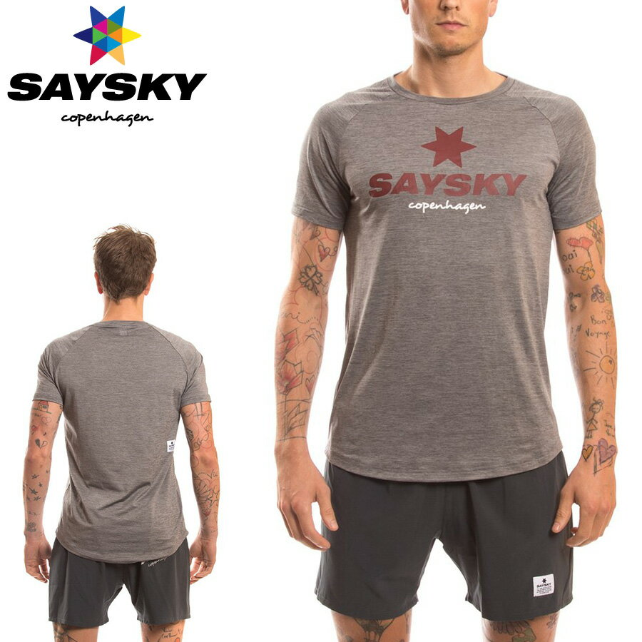 SAYSKY(セイスカイ) クラシック Tシャツ(ランニング半袖シャツ)