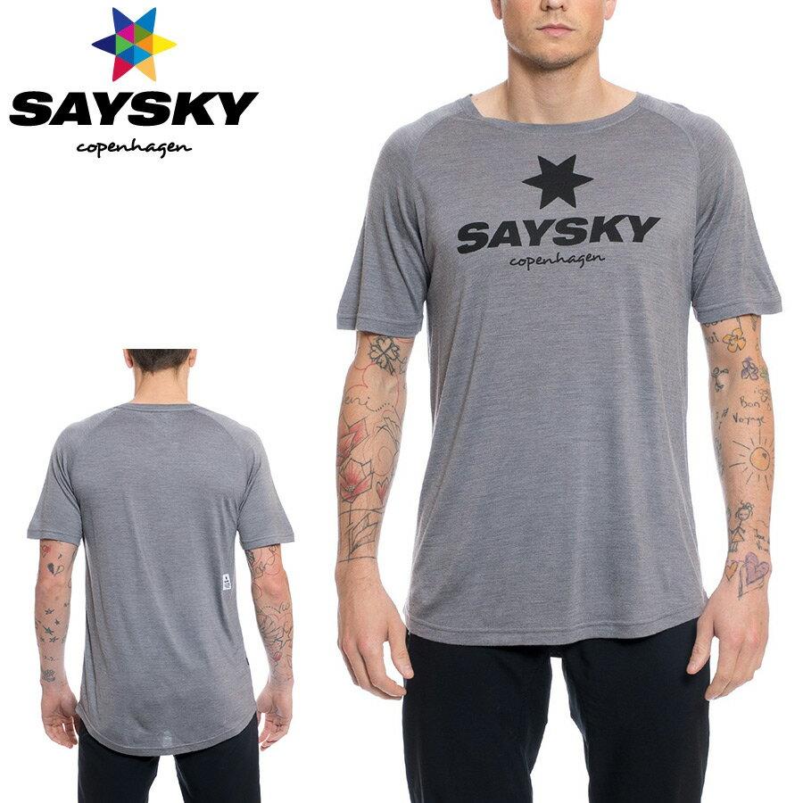 SAYSKY(セイスカイ) WOLFPACK ウルフパック クラシック Tシャツ(ランニング半袖シャツ)