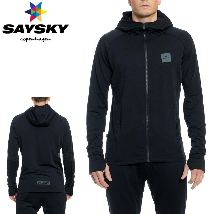 SAYSKY(セイスカイ) WOLFPACK ウルフパック フード付ジャケット(ランニングジャケット)