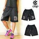 CLAP(クラップ) ハーフパンツ B-CAMO(BLACK CAMO)|うっすらとのダークなカモフラ柄のダンスやフィットネスにおすすめのハーフパンツ