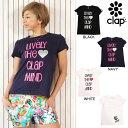 CLAP(クラップ) Tシャツ LIVELY THE CLAP MIND|ハートも可愛い!定番ティーシャツ