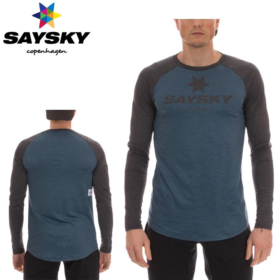 【メーカー在庫商品】SAYSKY(セイスカイ) ユニセックス CLASSIC LS TEE クラシック 長袖Tシャツ(ロングスリーブシャツ) 【返品交換不可】
