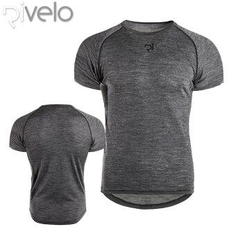 Rivelo(ribero)BURRINGTON巴林頓美利奴騎自行車襯衫(T恤)