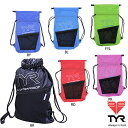 TYR(ティア) アライアンス ウォータープルーフ サックパック スイミングやプールの小物入れに便利な防水ミニバッグ …