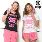 CLAP(クラップ)Tシャツ+ボトルセットFITNESSCLUB