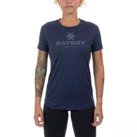 【在庫処分特価】SAYSKY(セイスカイ) レディース CLASSIC ILLUMINATE SS クラシックイルミネイトTシャツ(ランニングシャツ)【返品交換不可】