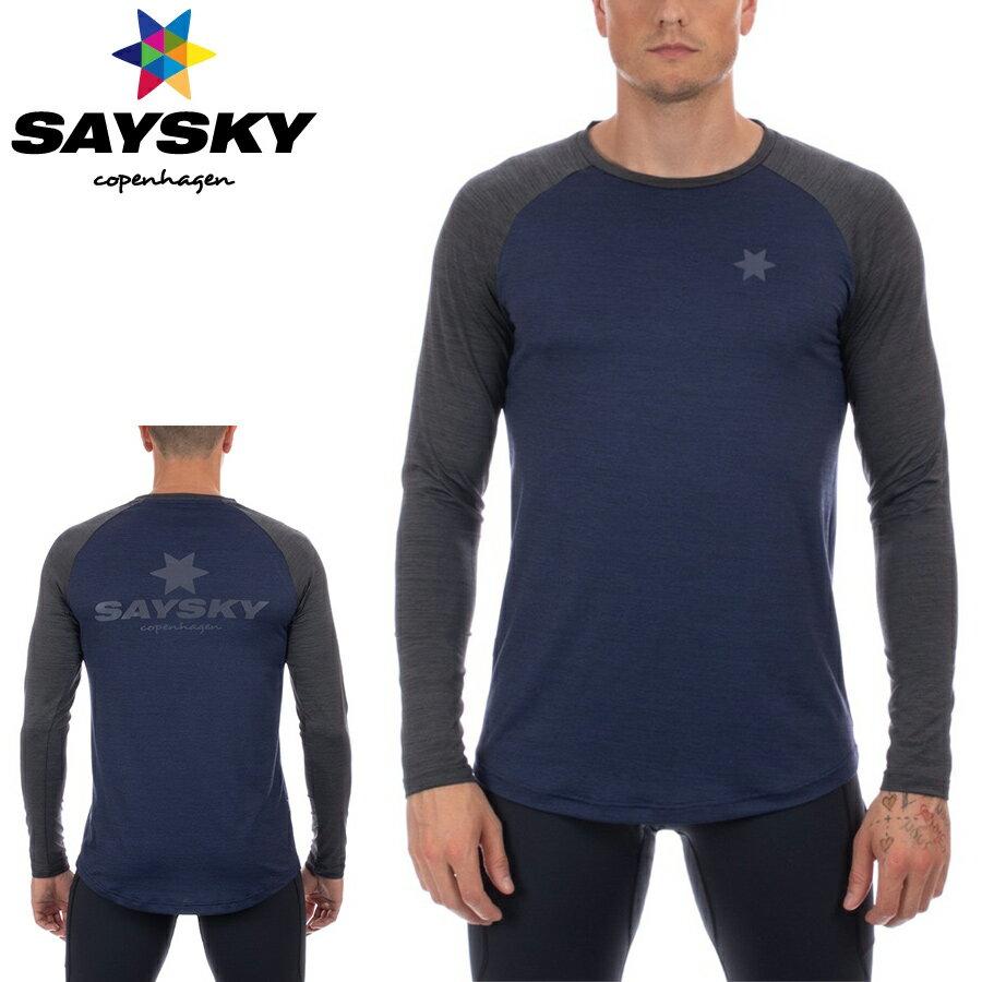 SAYSKY(セイスカイ) CLASSIC ILLUMINATE LS TEE クラシックイルミネイトロングスリーブTシャツ(ランニングロンT)【返品交換不可】