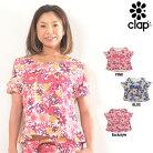CLAP(クラップ)ホールTee(Tシャツ)フラワー(M-FLOWER)