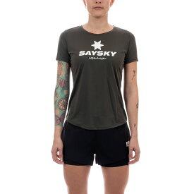 SAYSKY(セイスカイ) レディース CLASSIC SS LIGHT TEE クラシックライト半袖Tシャツ(ランニングシャツ) 【返品交換不可】