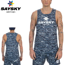 SAYSKY(セイスカイ) ユニセックス TIGER SINGLETS タイガー シングレット(ランニングタンクトップシャツ) 【返品交換不可】