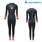 【在庫処分特価】AquaSphere(アクアスフィア)PURSUIT2.0パースーツ2.0レディ—スワンピース女性用トライアスロンウエットスーツ【返品交換不可】