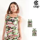 CLAP(クラップ)Yバックタンク(タンクトップシャツ)カモフラ(CAMOUFLAGE)
