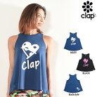 CLAP(クラップ)AラインタンクDOT-CLAPHEART(タンクトップ)