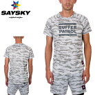 SAYSKY(セイスカイ)ユニセックスメンズレディースTIGERCOMBATTEETシャツ(ランニングシャツ)【返品交換不可】