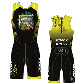 2XU×TRINY (2XU×トリニー) Perform Rear Zip Tri Suit パフォーム リアジップ カスタム トライスーツ (トライアスロン用スーツ)