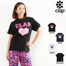 CLAP(クラップ) HEART HEART TEE ハートハート (Tシャツ)