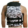 W.S.P. FLEXY VEST(프렉시-베스트) 칼라:화이트 위장 JWBA 인정품 입는 기분 소프트한 잠수복 소재로 움직이기 쉽고, 확실히 체형에 핏트웨이크베스트후로팅베스트