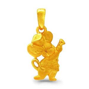 24K 純金 ミニマウス ペンダント レディース 女性 イエローゴールド プレゼント 誕生日 贈物 24金 ジュエリー アクセサリー ブランド プリマゴールド PRIMAGOLD K24 送料無料