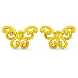 純金 24K ピアス 【送料無料】 【 BUTTERFLY DELIGHT(バタフライ・デライト) 】 【ピアス】 【pierced earring】 PRIMAGOLD K24 24金 ゴールド
