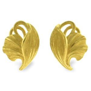 24K 純金 PRIMAGOLD プリマゴールド 送料無料 【 FERNLEAF(フェーンリーフ) 】 【ピアス】 【pierced earring】 24金 ゴールド