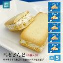 雪塩さんど(塩ホワイトチョコ味)(6個入)×5箱セット-送料込