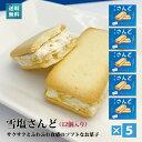 雪塩さんど(塩ホワイトチョコ味)(12個入)×5箱セット-送料込