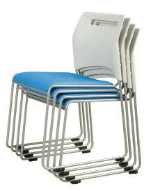 弘益 スフィーダ ミーティングチェア W515 D550 H775 (SH430) ブルー SFIDA 弘益 ミーティングチェア 会議チェア イス 椅子 会議 ミーティング