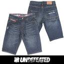 UNDEFEATED UNDFTD アンディフィーテッド メンズ ハーフ デニム ジーンズ ud01 海外正規輸入品