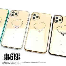 iPhone11 ケース スマートフォン カバー 薄型 軽量 アイフォン iPhone11 Pro MAX ハード ケース カバー スワロフスキー メール便 宝石 綺麗 女子 キラキラ