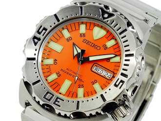 Watch automatic, Seiko SEIKO Orange Monster diver SKX781J1