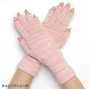 ハンドウォーマーMAX(指長)スマホ手袋綿指なし手袋レディースメンズ軍手防寒温かい日本製841【あす楽】[I:9/40]