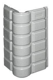 セーフティコーンパッド コーナー用Lタイプ グレー 1個 安全 警告 案内 規制 誘導 アピール パチンコ備品 送料無料