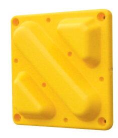 セーフティコーンパッド ブロックタイプ 1個 安全 警告 案内 規制 誘導 アピール パチンコ備品 送料無料