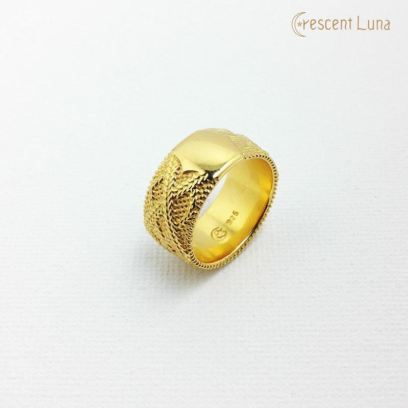 送料無料!CRESCENT LUNA(クレセントルナ) -TEXTIL RING- リング/指輪/アクセサリー