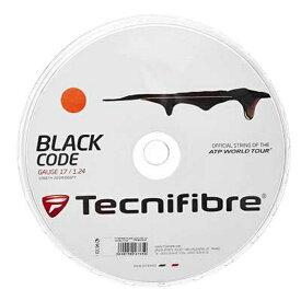 【火-木は4%OFFクーポン】[ガット]テクニファイバー ブラックコード ファイア(200mロールガット)(04rblfi)