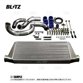 BLITZ ブリッツ インタークーラーSE TYPE-JS (2層幅タイプ) スカイライン R33/R34/ECR33/ER34 RB25DET 93/8〜01/6 (23100