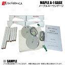 IKEYA FORMULA イケヤフォーミュラ MAPLE A-ONE GAGE (メープルA-1ゲージ) フルセット 4穴/5穴、PCD100/114.3 (IFMPA1GF