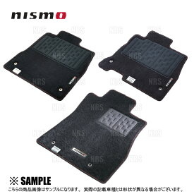 NISMO ニスモ フロアマット スカイラインGT-R R32/BNR32 (74902-RNR25