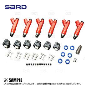 SARD サード 車種別専用 インジェクター キット (550cc) スカイラインGT-R R32/R33/R34/BNR32/BCNR33/BNR34 RB26DETT (63824