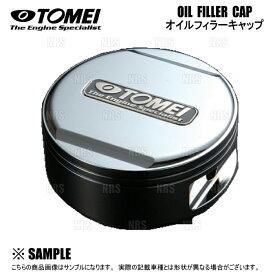 TOMEI 東名パワード OIL FILLER CAP オイルフィラーキャップ (シルバー) M32×P3.5 日産 (ニッサン)車 (193056