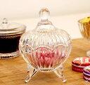 ガラスキャンディーポット コットン キャンディー アクセサリー リビング キッチン