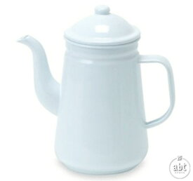 ほうろうコーヒーポット|珈琲ポット|珈琲用品|ホウロウ|琺瑯|ホーロー|やかん|調理器具|キッチン|直火|ホワイト|アンティーク調|インテリア|レトロ|おしゃれ|かわいい|人気|通販(メール便不可)[生活]