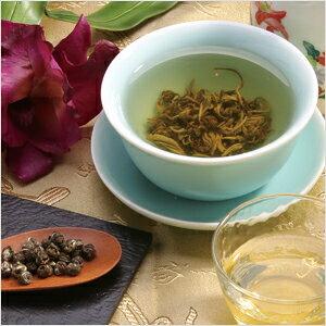 中国花茶茉莉花綉球(ジャスミン茶)100g袋入り【中国茶】【花茶】【健康茶】メール便を選択で 送料無料