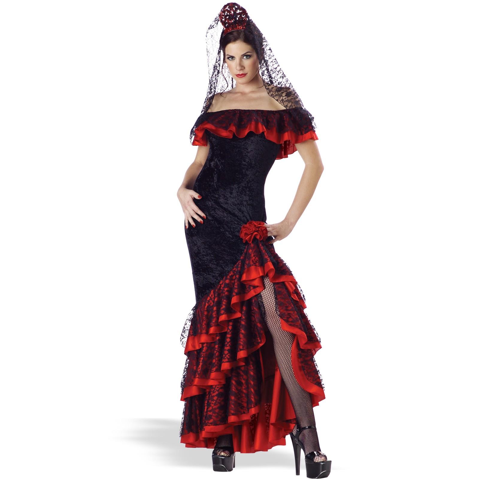 衣装 フラメンコ ドレス ダンス コスチューム 舞台 大人用