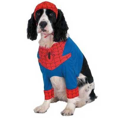 在庫処分市 スパイダーマン コスプレ 衣装 なりきり ハロウィン ペット用 あす楽