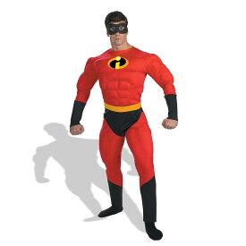 インクレディブル ファミリー ディズニー コスチューム 大人 Mr.インクレディブル 男性 コスプレ 衣装 マッチョ スーツ 筋肉 ムキムキ