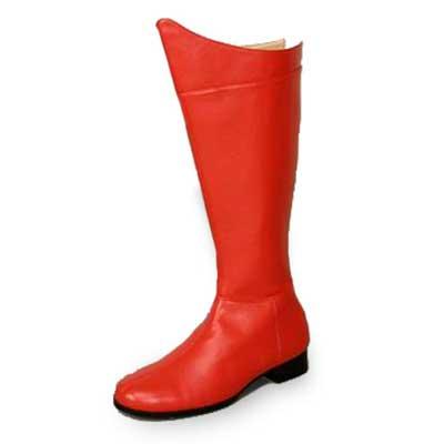 ヒーロー コスプレ 仮装 靴 ブーツ 赤 大人用 メンズ 靴 シューズ あす楽