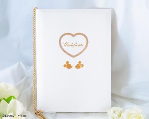 【Disneyzone】ウエディング ブライダル 【ディズニー】結婚証明書 レヴェリー(ミッキー&ミニー)ウェディング bridal